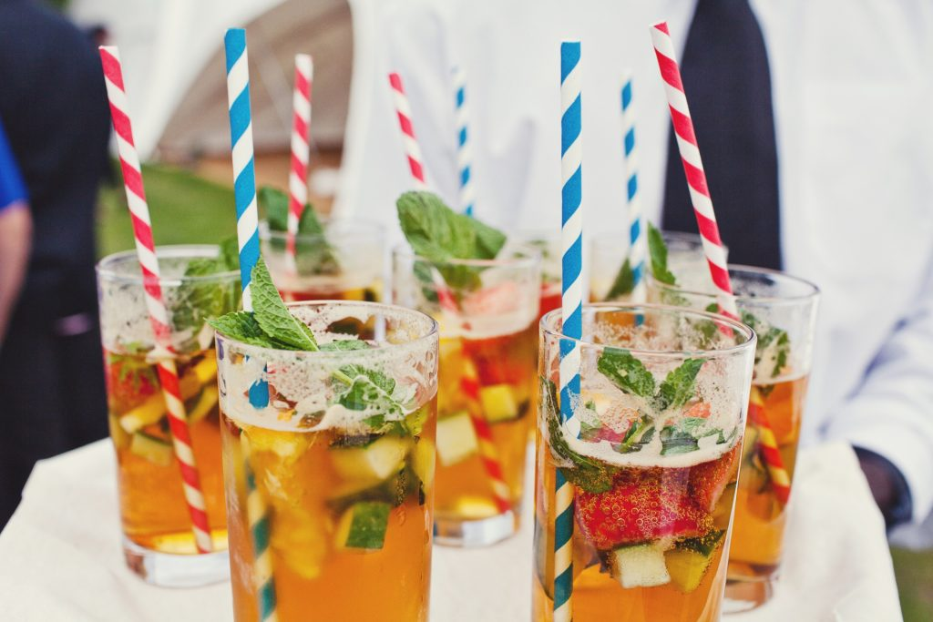 Complimentary Pimm for all guests