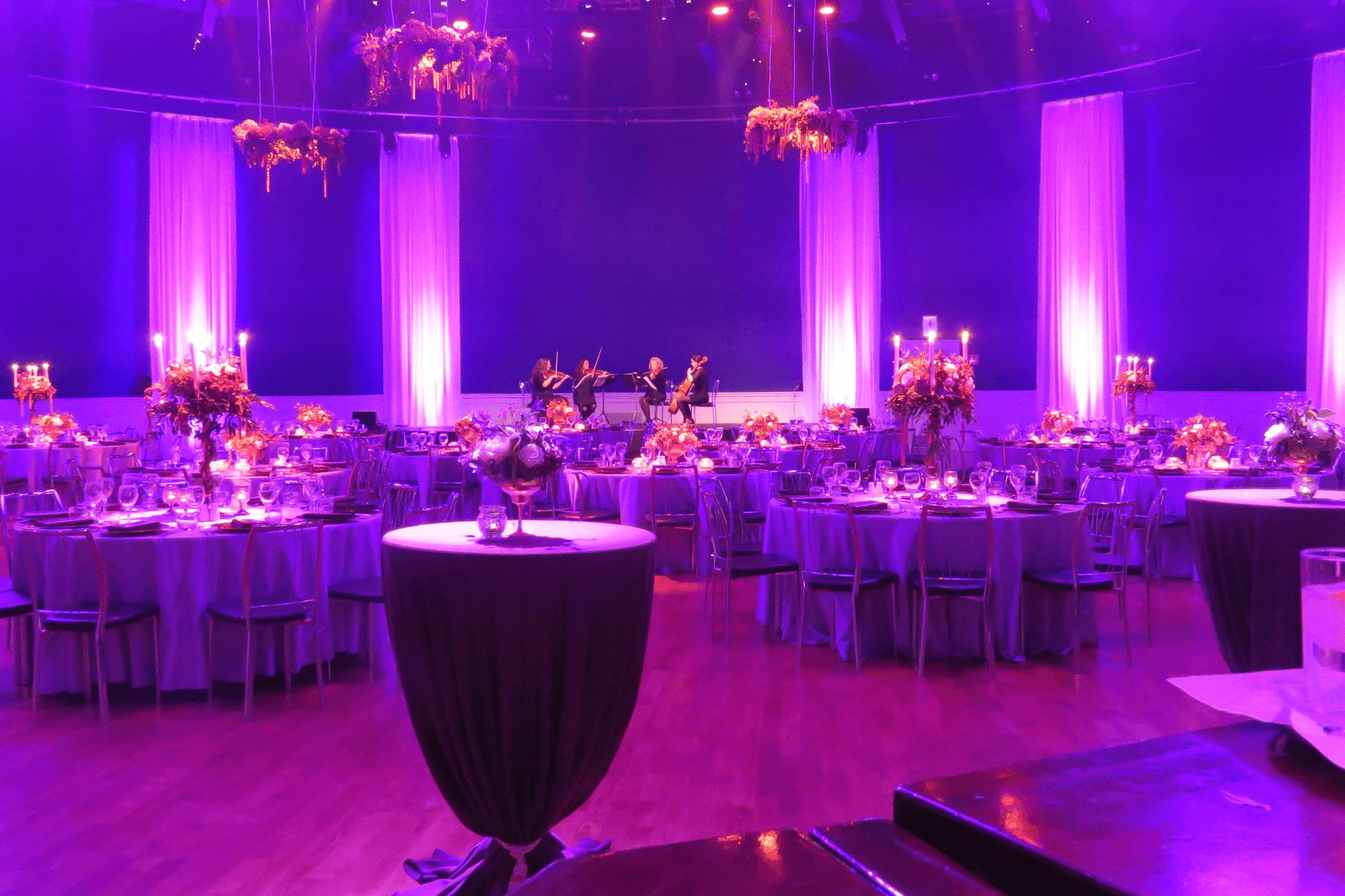 powerstation light in events weddings by wedding ct lighting event