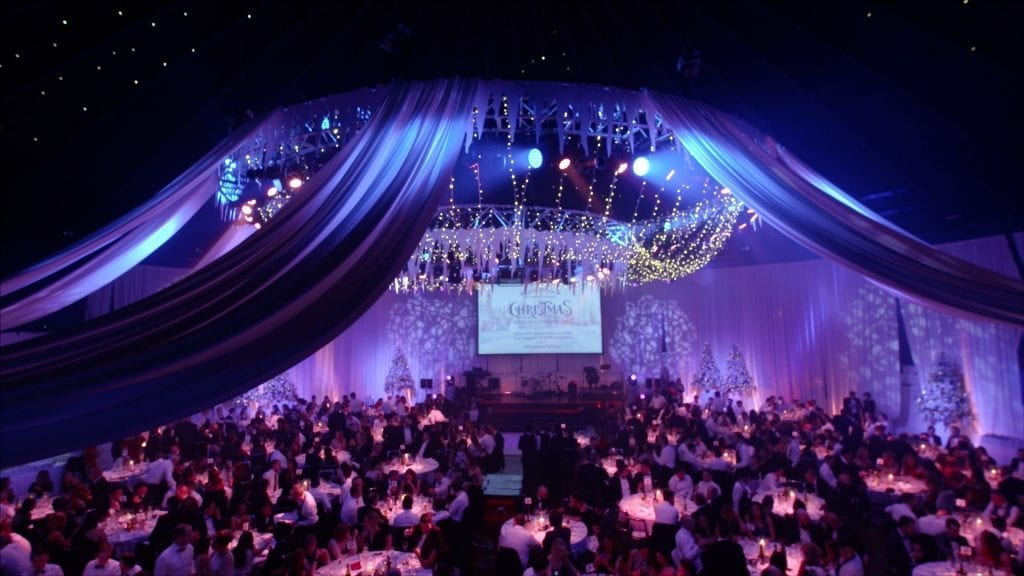 The Conference & Events Venue - Winter Wonderland Christmas Party at the Round Room